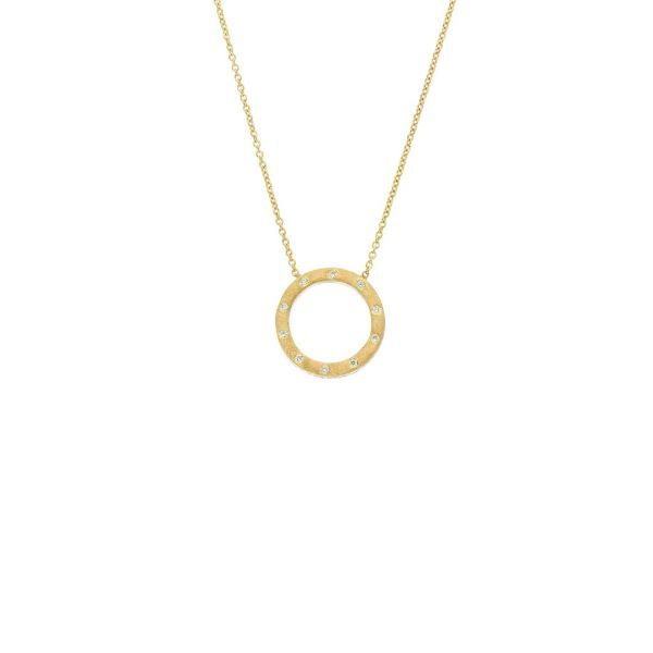The Dunes Small Circle Necklace Grogan Jewelers Florence, AL