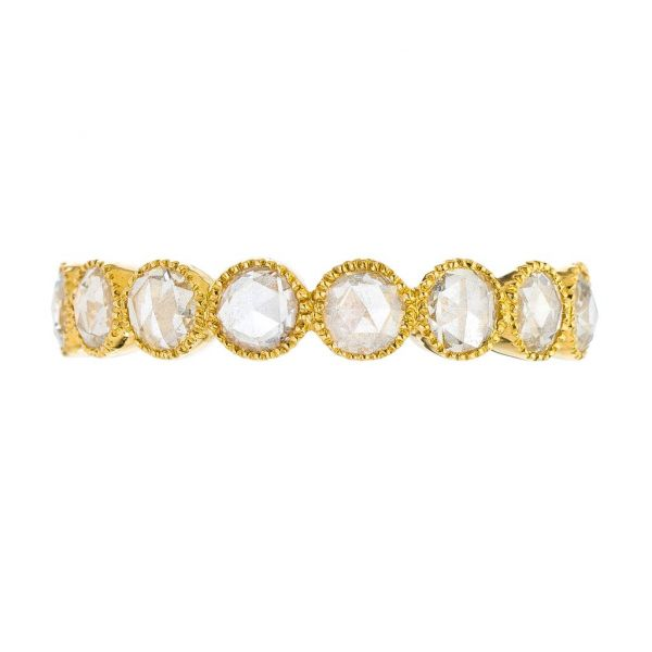 The Grace with White Diamonds in Yellow Gold Grogan Jewelers Florence, AL