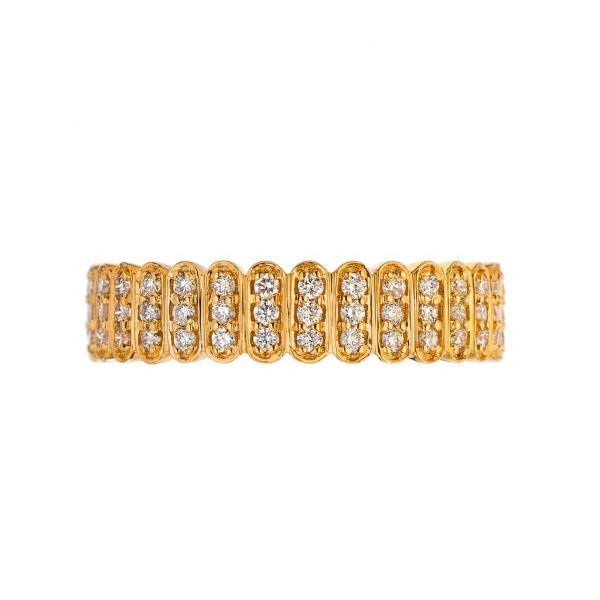 The Abacus with White Diamonds in Rose Gold Grogan Jewelers Florence, AL