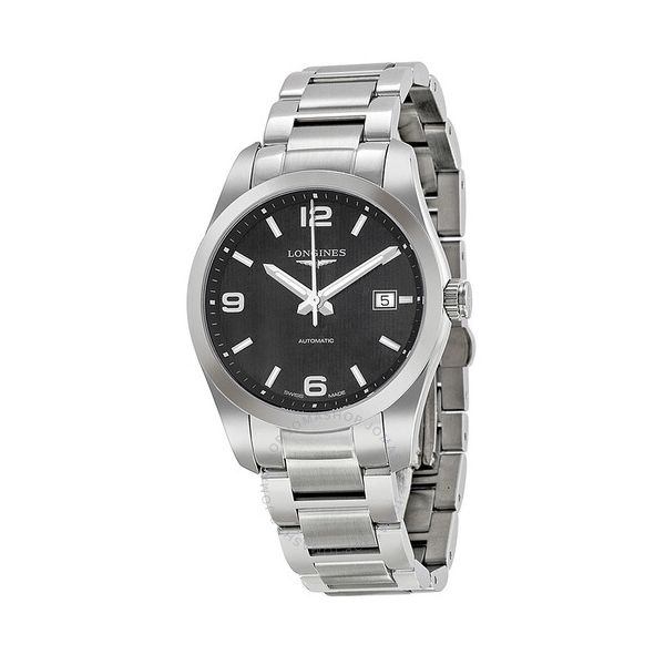 Conquest Automatic Black Dial Men's Watch Grogan Jewelers Florence, AL