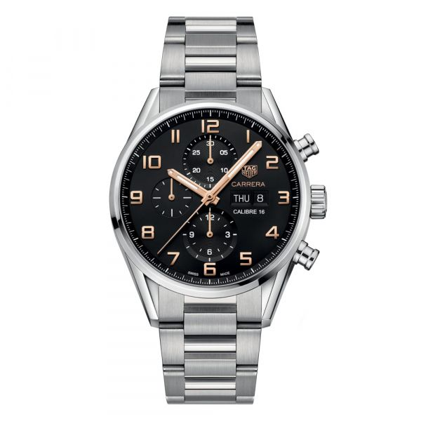 TAG Heuer Carrera Chronograph Day Date Watch Grogan Jewelers Florence, AL