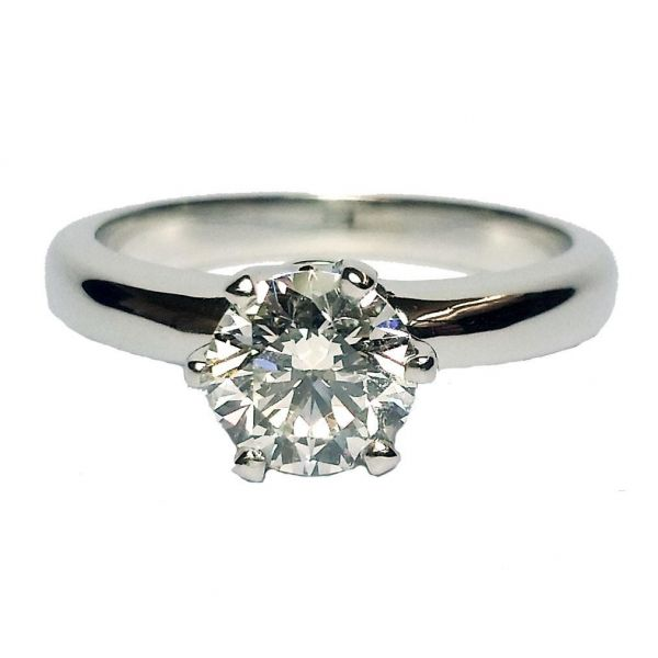1.02ct Round Brilliant Cut Diamond Solitaire Ring Jae's Jewelers Coral Gables, FL