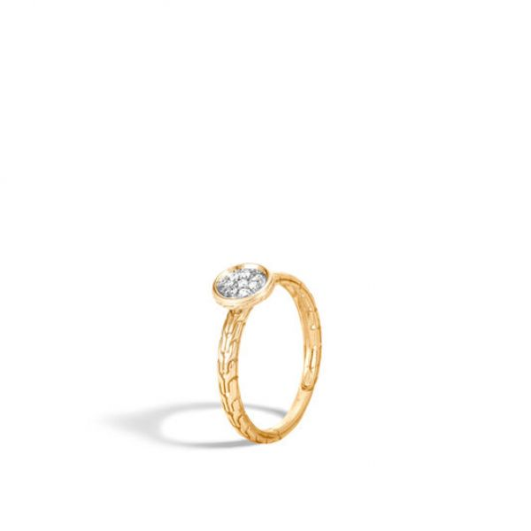 Dot Ring with Diamonds Image 3 Jae's Jewelers Coral Gables, FL