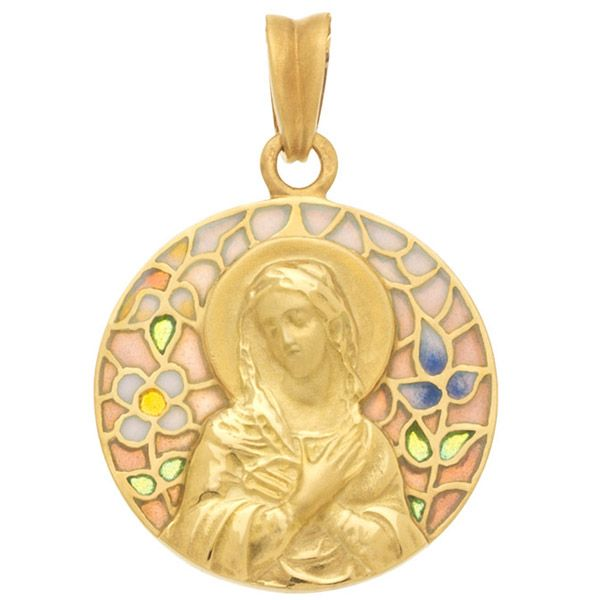 Virgin Mary Pendant Jae's Jewelers Coral Gables, FL
