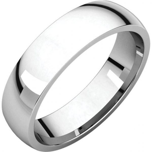 6mm Platinum Band Jae's Jewelers Coral Gables, FL