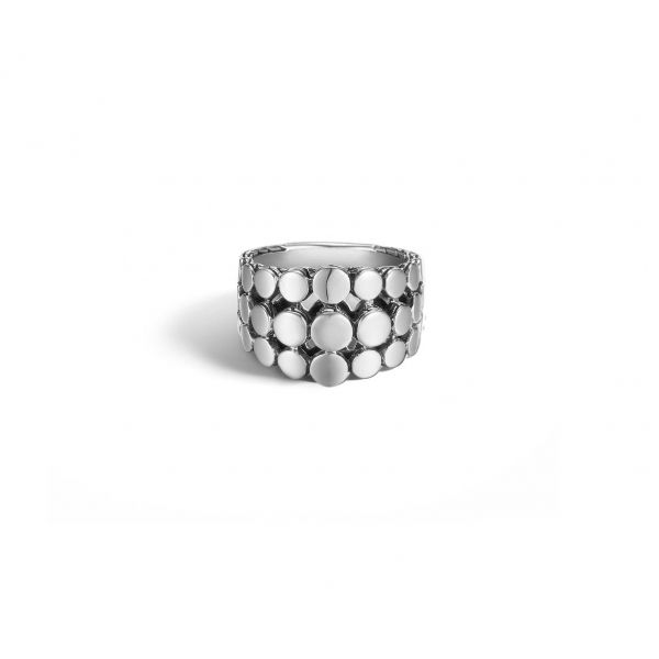 Dot Triple-Row Dome Ring Jae's Jewelers Coral Gables, FL