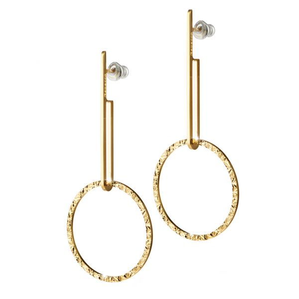 Copenhagen Collection Circle Earrings Jae's Jewelers Coral Gables, FL
