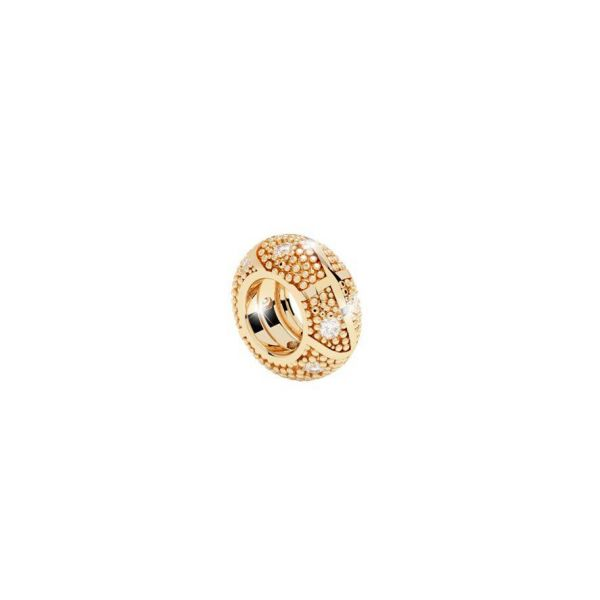 Yellow Round Ring Charm with Crystals Jae's Jewelers Coral Gables, FL