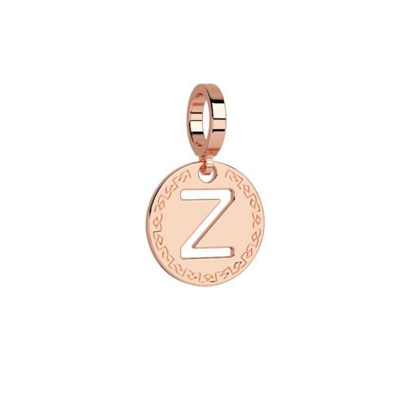 Rose Initial ''Z'' Charm Jae's Jewelers Coral Gables, FL