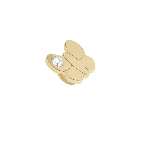 Yellow Butterfly Ring Charm Jae's Jewelers Coral Gables, FL
