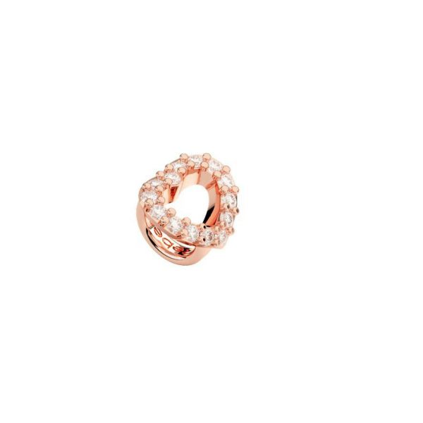 Rose Open Heart Ring Charm Jae's Jewelers Coral Gables, FL