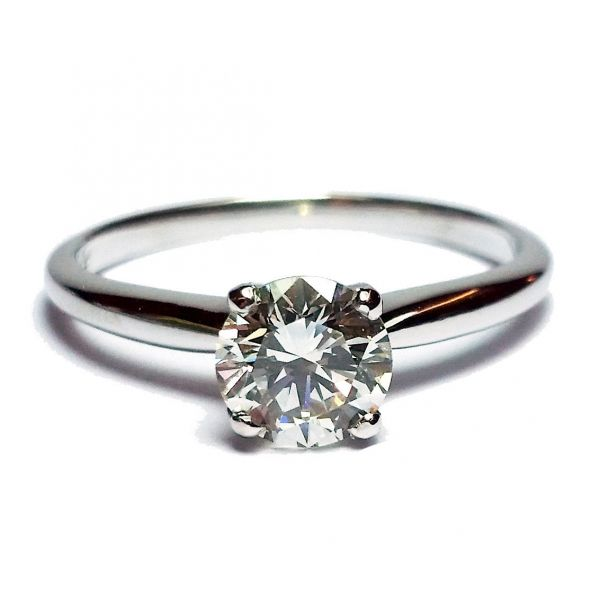 0.83ct Round Brilliant Cut Diamond in Solitaire Ring Jae's Jewelers Coral Gables, FL