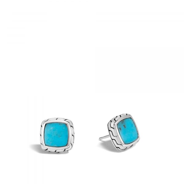 Turquoise Stud Earrings Jae's Jewelers Coral Gables, FL