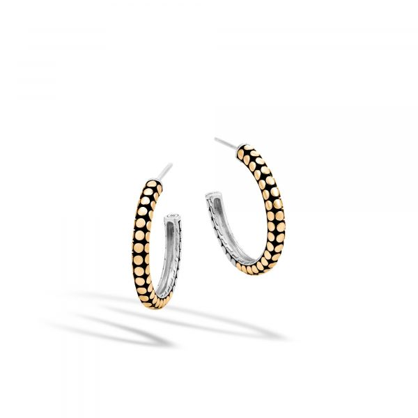 Dot Hoop Earrings Jae's Jewelers Coral Gables, FL