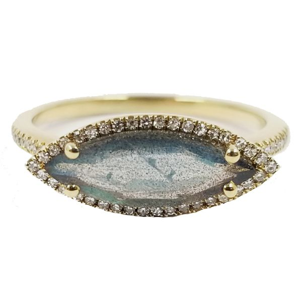 Labradorite Wide Ring Jae's Jewelers Coral Gables, FL