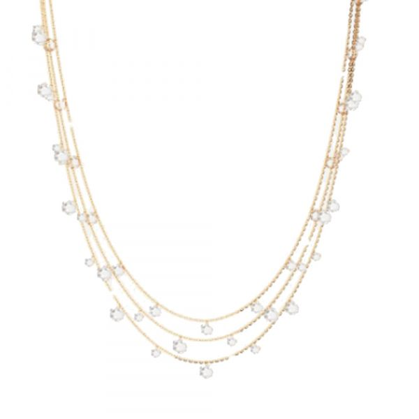 Lucciole Triple Necklace Jae's Jewelers Coral Gables, FL
