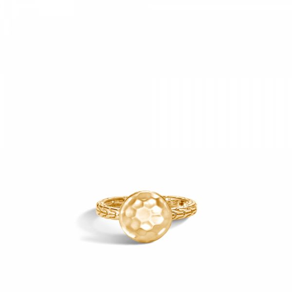 Dot Hammered Ring Jae's Jewelers Coral Gables, FL