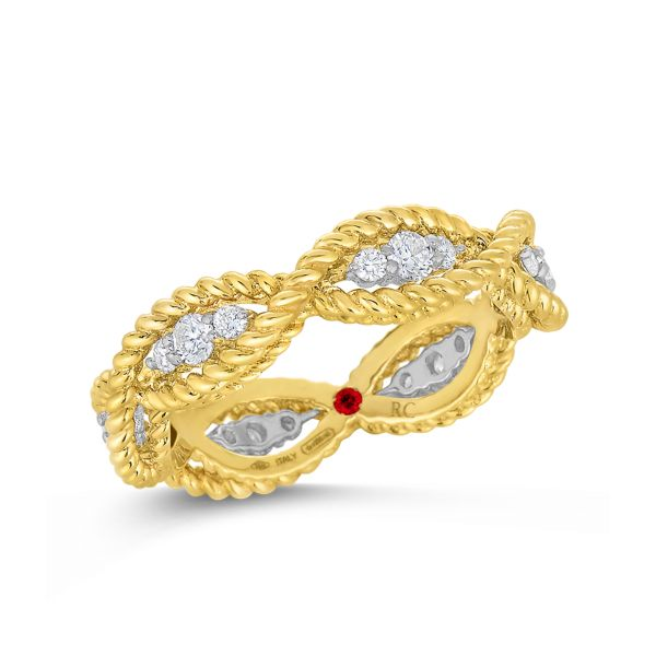 Barocco Braid Ring - Yellow Gold Jae's Jewelers Coral Gables, FL