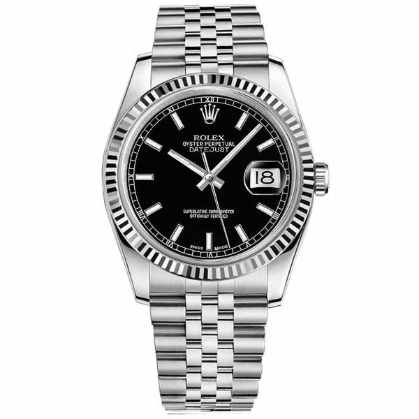 Rolex Men's Steel Datejust 36MM Jae's Jewelers Coral Gables, FL
