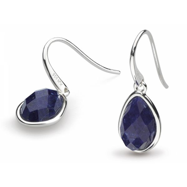 Coast Pebble Earrings with Lapis Johnny's Lakeshore Jewelers South Haven, MI