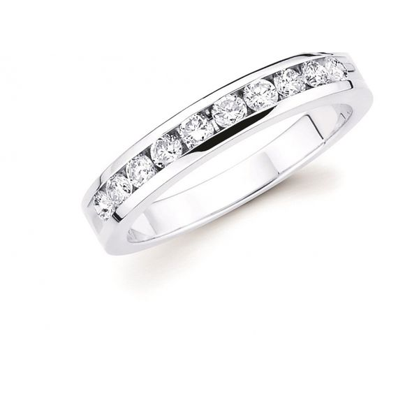 3/4 Diamond Channel Set Band Johnnys Lakeshore Jewelers South Haven, MI