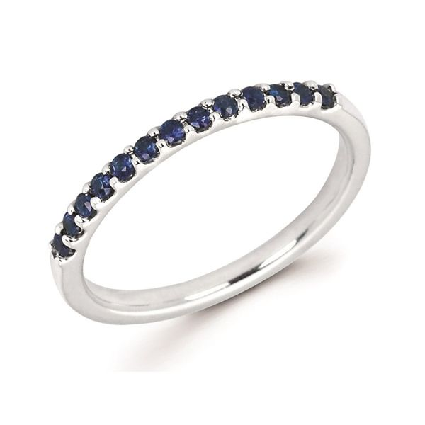 Sapphire Stackable Ring Johnny's Lakeshore Jewelers South Haven, MI