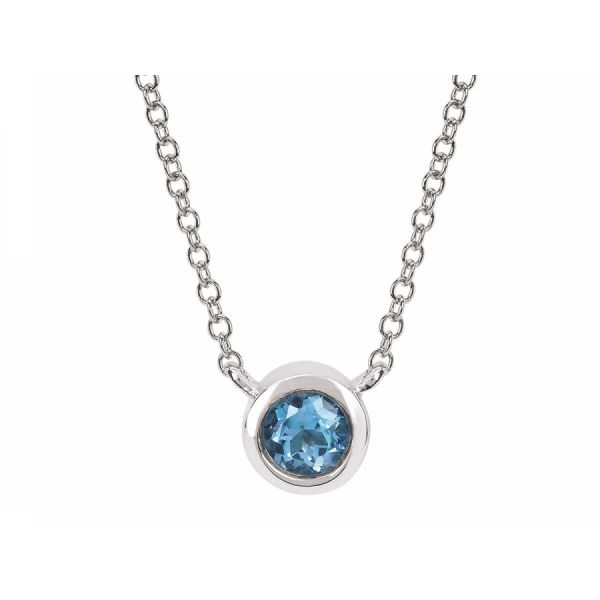 Sterling Silver Birthstone Necklace Johnny's Lakeshore Jewelers South Haven, MI