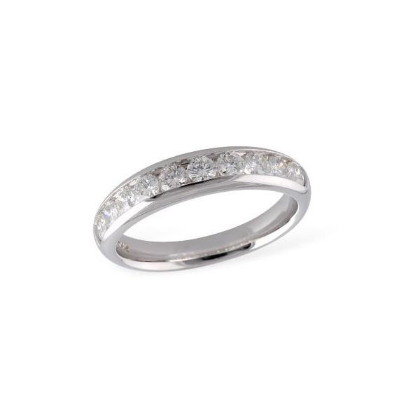 ten stone diamond 14k white gold band allison kaufman