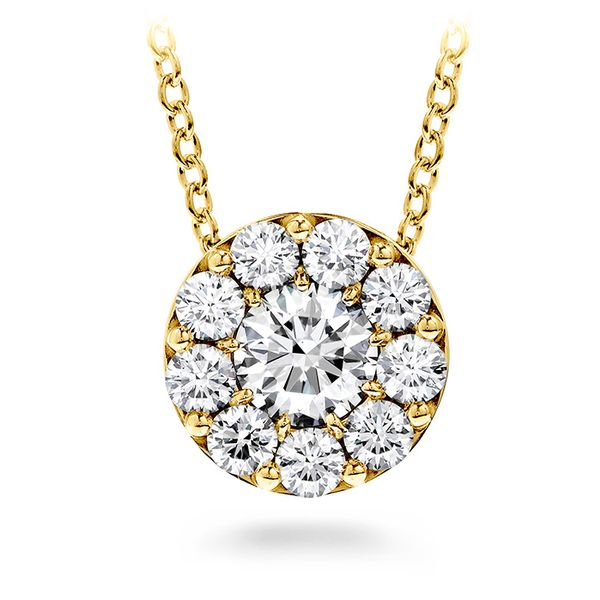 Hearts on Fire Fulfillment Pendant Necklace - Yellow Gold The Diamond Center Claremont, CA