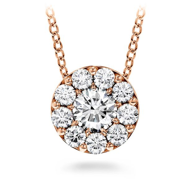 Hearts on Fire Fulfillment Pendant Necklace - Rose Gold The Diamond Center Claremont, CA