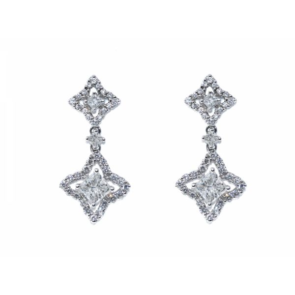 Diamond Chandelier Earring Malak Jewelers Charlotte, NC
