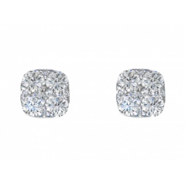 Diamond Stud Earring Malak Jewelers Charlotte, NC
