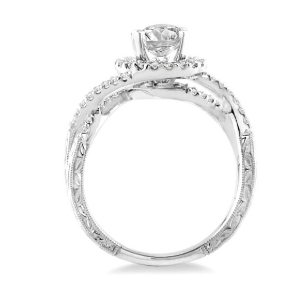 Infinity Inspired Engagement Ring  Image 3 Martin Busch Inc. New York, NY