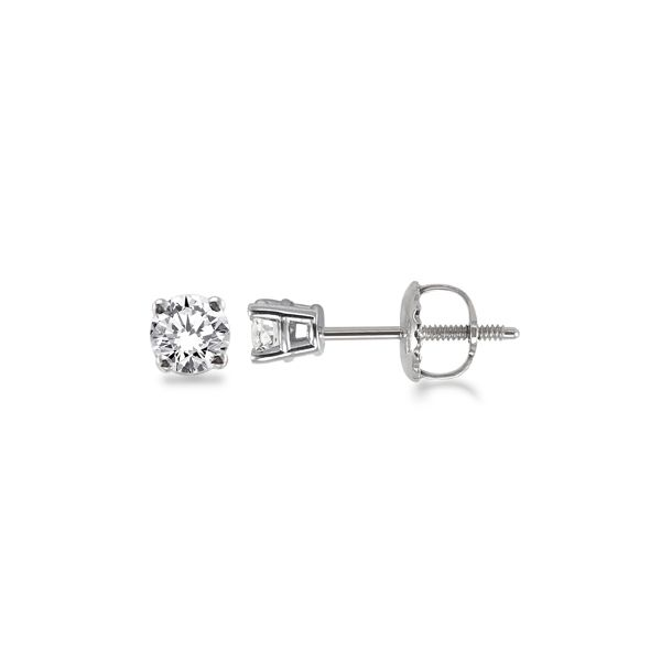 1/2 ctw Diamond Stud Earrings  Martin Busch Inc. New York, NY