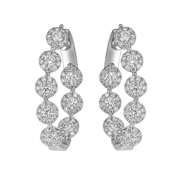 18K White Gold EARRINGS Javeri Jewelers Inc Frisco, TX