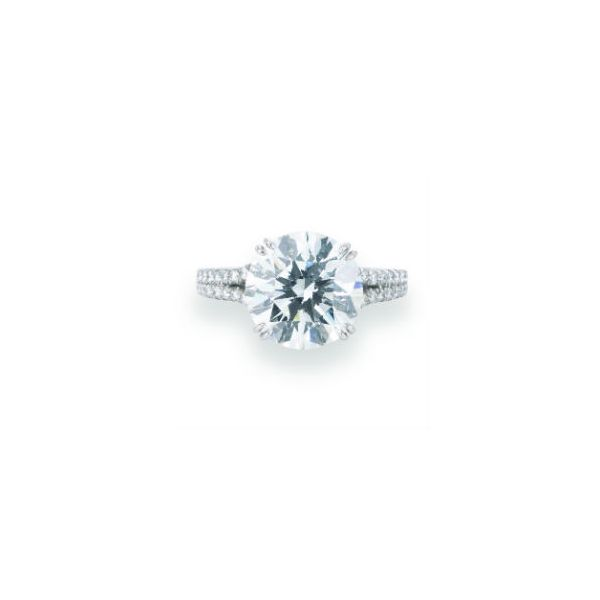 Double diamond row engagement ring Mystique Jewelers Alexandria, VA