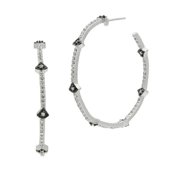 Hoop earrings Freida Rothman  Parris Jewelers Hattiesburg, MS