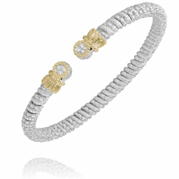 Sterling Silver and 14k Gold Bracelet Parris Jewelers Hattiesburg, MS