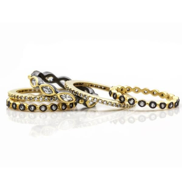 Stackable rings Freida Rothman Parris Jewelers Hattiesburg, MS