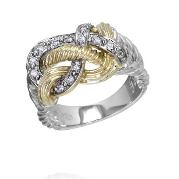 Sterling Silver, 14k Gold, and Diamonds Parris Jewelers Hattiesburg, MS