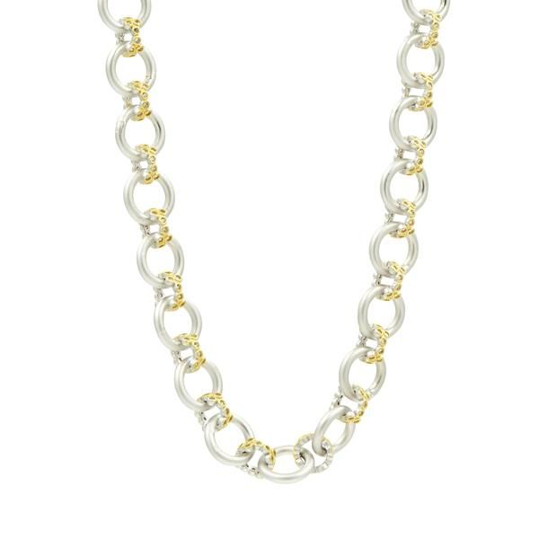 Chunky link necklace Freida Rothman Parris Jewelers Hattiesburg, MS