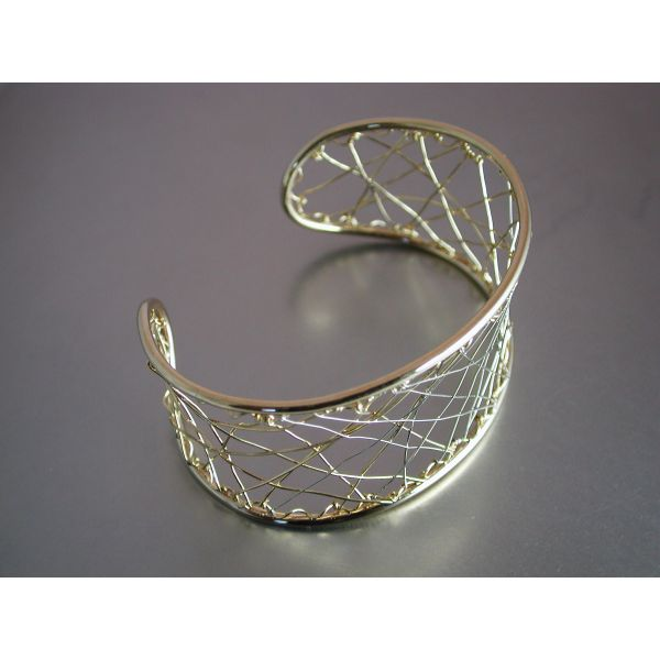 Custom Wire Bangle  William Phelps Custom Jeweler Naples, FL
