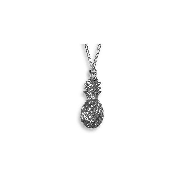 Sterling Pineapple Necklace Polly's Fine Jewelry N. Charleston, SC