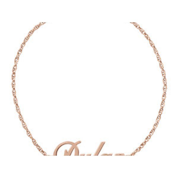 14K Rose Gold-Plated Sterling Silver Polly's Fine Jewelry N. Charleston, SC