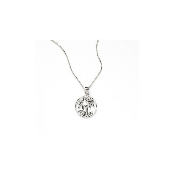 Gate Harbor Palm Tree Pendant Polly's Fine Jewelry N. Charleston, SC