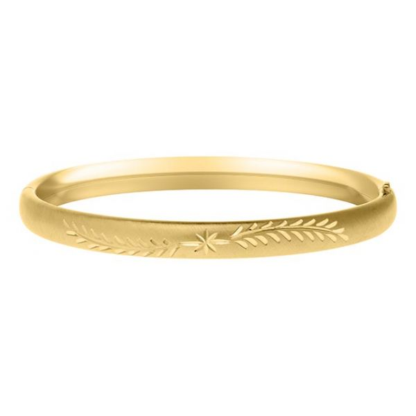 14K Gold Filled Baby Bangle Polly's Fine Jewelry N. Charleston, SC