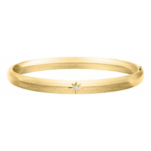 14K Gold Filled Baby Diamond Bangle Polly's Fine Jewelry N. Charleston, SC