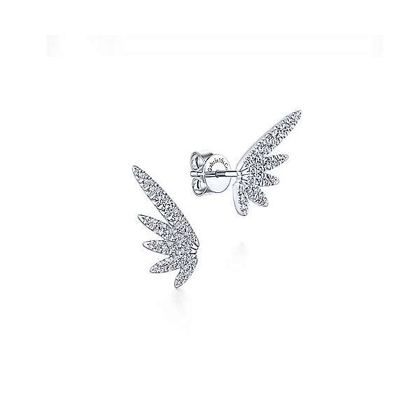 Pave Diamond Wing Studs Polly's Fine Jewelry N. Charleston, SC