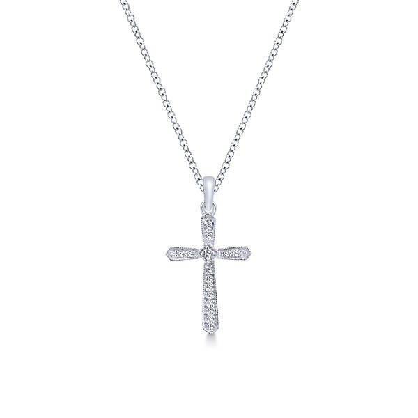 Diamond Cross Necklace Polly's Fine Jewelry N. Charleston, SC