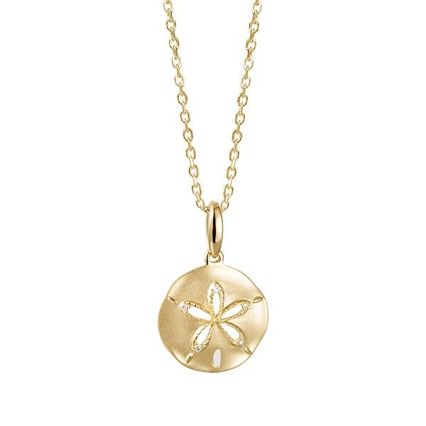 Small Diamond Sand Dollar Pendant Polly's Fine Jewelry N. Charleston, SC